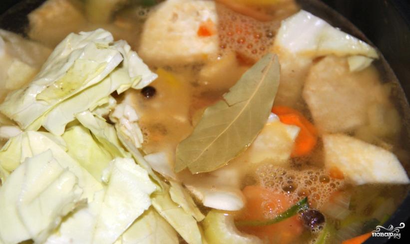 Суп картофельный с овощами - фото шаг 2