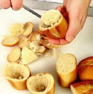 Бутерброды со шпротным паштетом - фото шаг 2