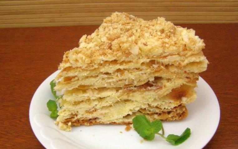 Слоеный торт - фото шаг 11