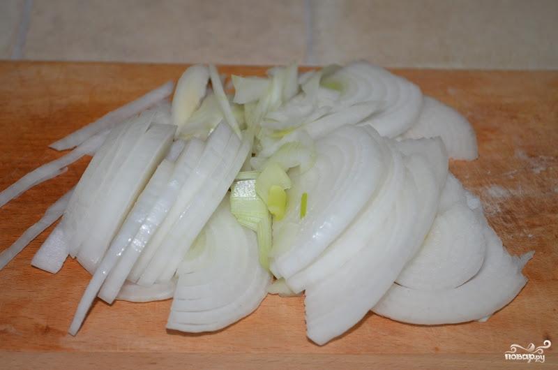 Тушеная капуста на сковороде - фото шаг 2
