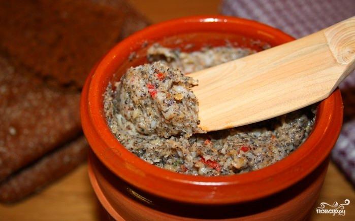 Рецепт Паштет из сала с чесноком