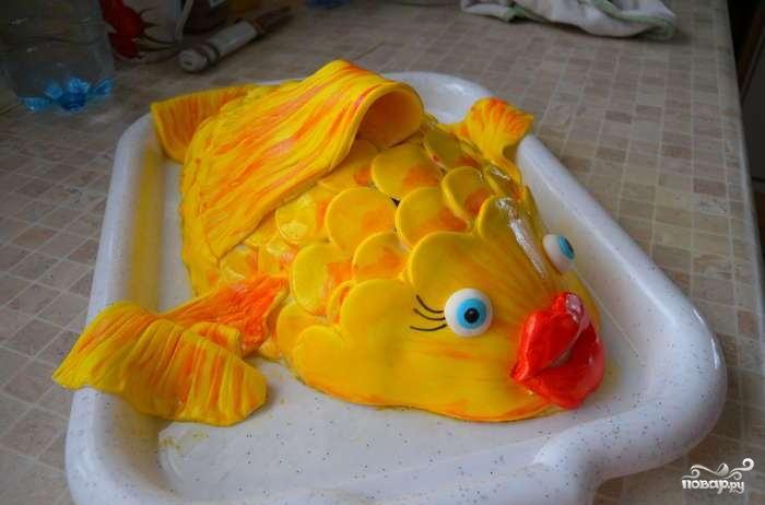 """Торт """"Рыбка"""""""