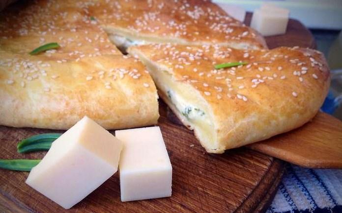 Хачапури из творожного теста с сыром - фото шаг 13