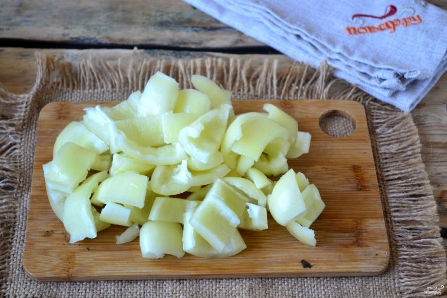 Перец в томатном соке на зиму - фото шаг 5
