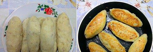 Картофельные зразы с сосиской - фото шаг 6