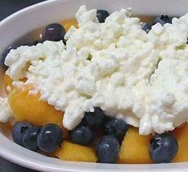Рецепт Творог с фруктами