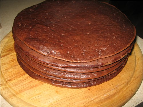 Бисквит на сковороде - фото шаг 4