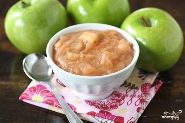 Кисло-сладкий яблочный соус