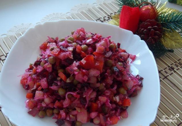 Любимый салат Петра 1