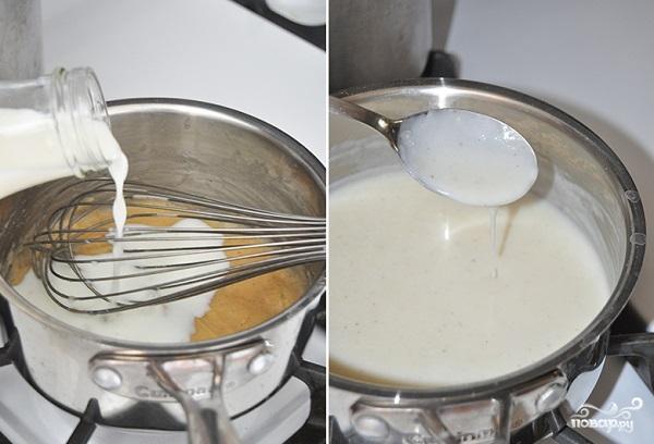 Грибной крем-суп из шампиньонов со сливками - фото шаг 5