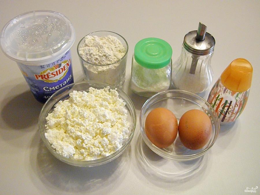 Творожное тесто для пирога с яблоками - фото шаг 1
