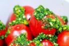 Помидоры фаршированные зеленью