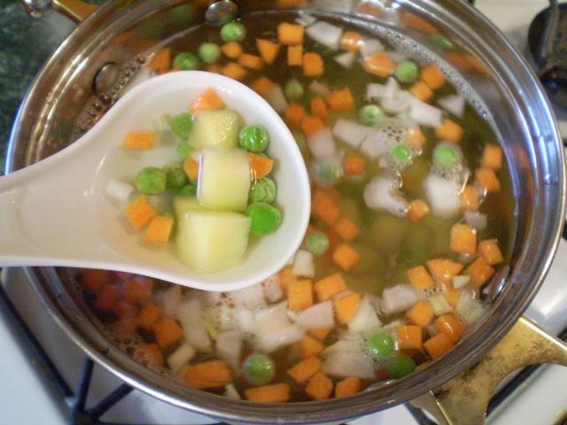 Простой овощной суп - фото шаг 4