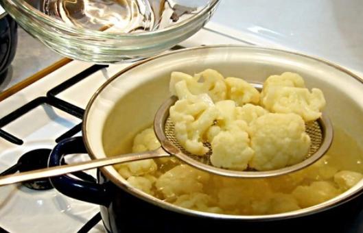 Рецепт Салат из цветной капусты по-корейски