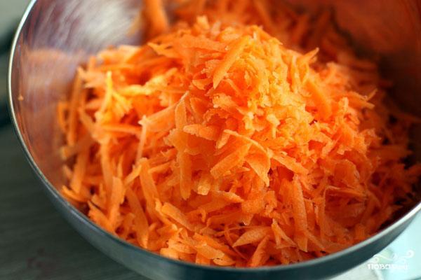 Острый салат из моркови - фото шаг 1