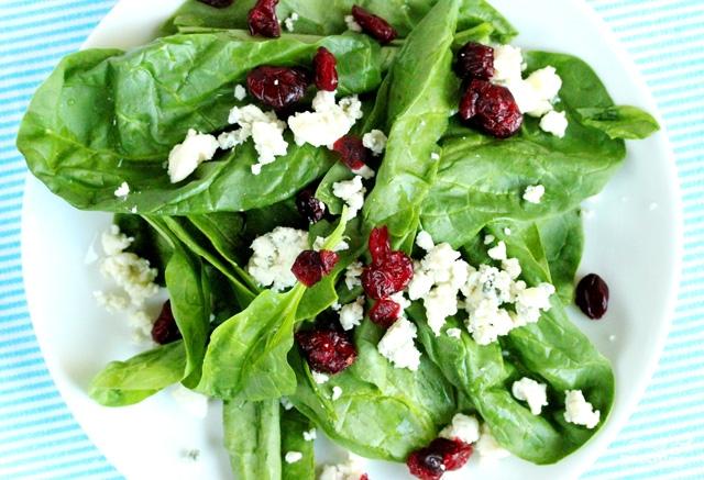 Салат из шпината и персиков - фото шаг 7