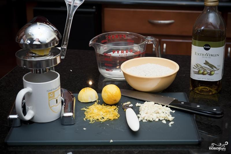Рецепт Рис с лимоном
