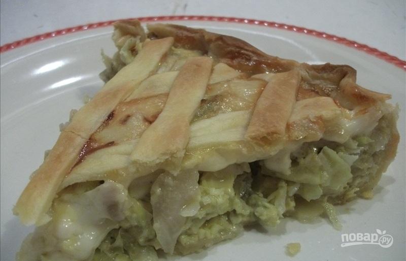 Капустник-пирог