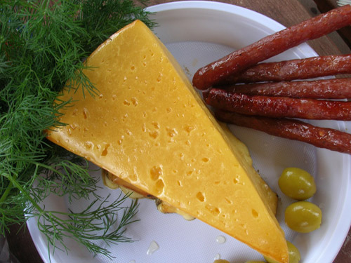 Сыр копченый в домашних условиях - фото шаг 3