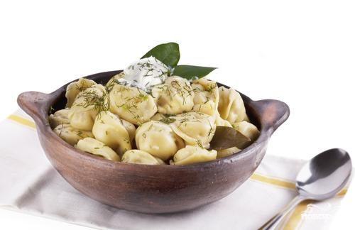 Рецепт Пельмени с грибами и рисом