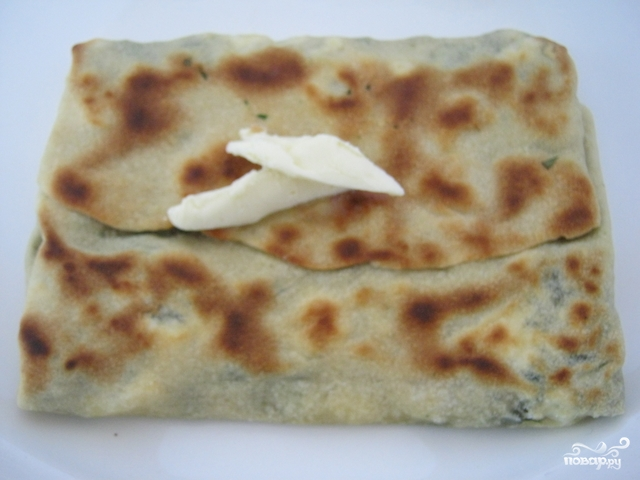 Турецкие лепешки гезлеме - фото шаг 6