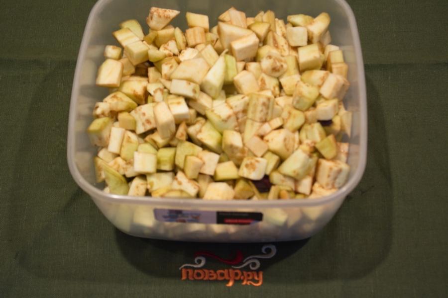 Рецепт Тушеные баклажаны с фаршем