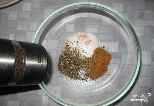 Рецепт Котлета на косточке в духовке