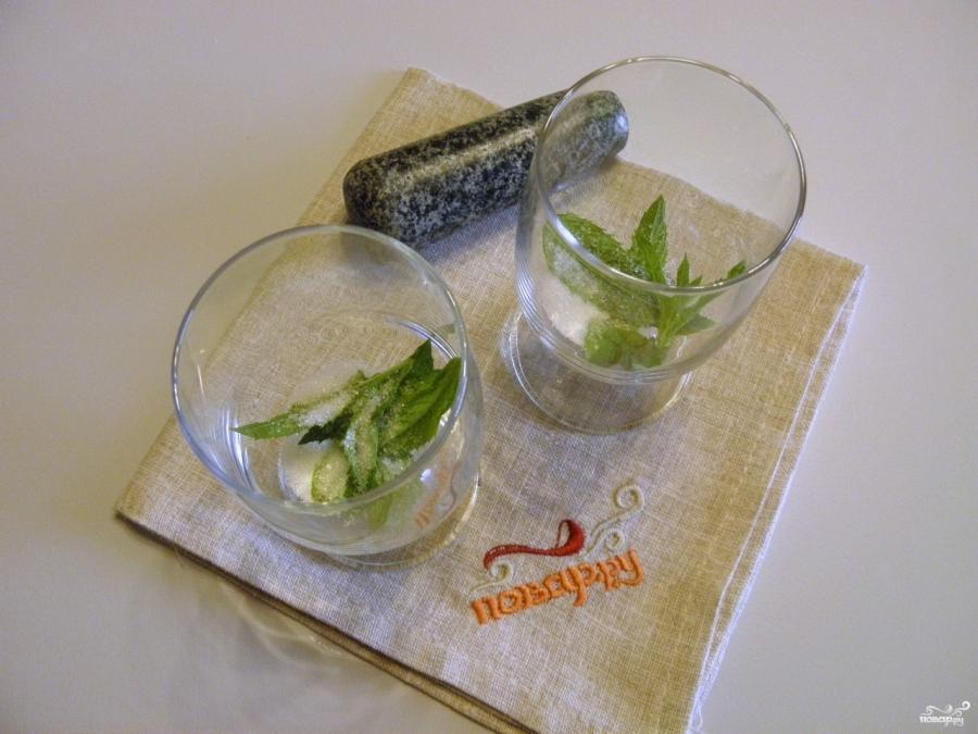 Клубничный мохито безалкогольный - фото шаг 2