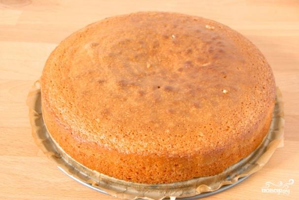 Торт с фруктами Фруктовый рай рецепт с фото