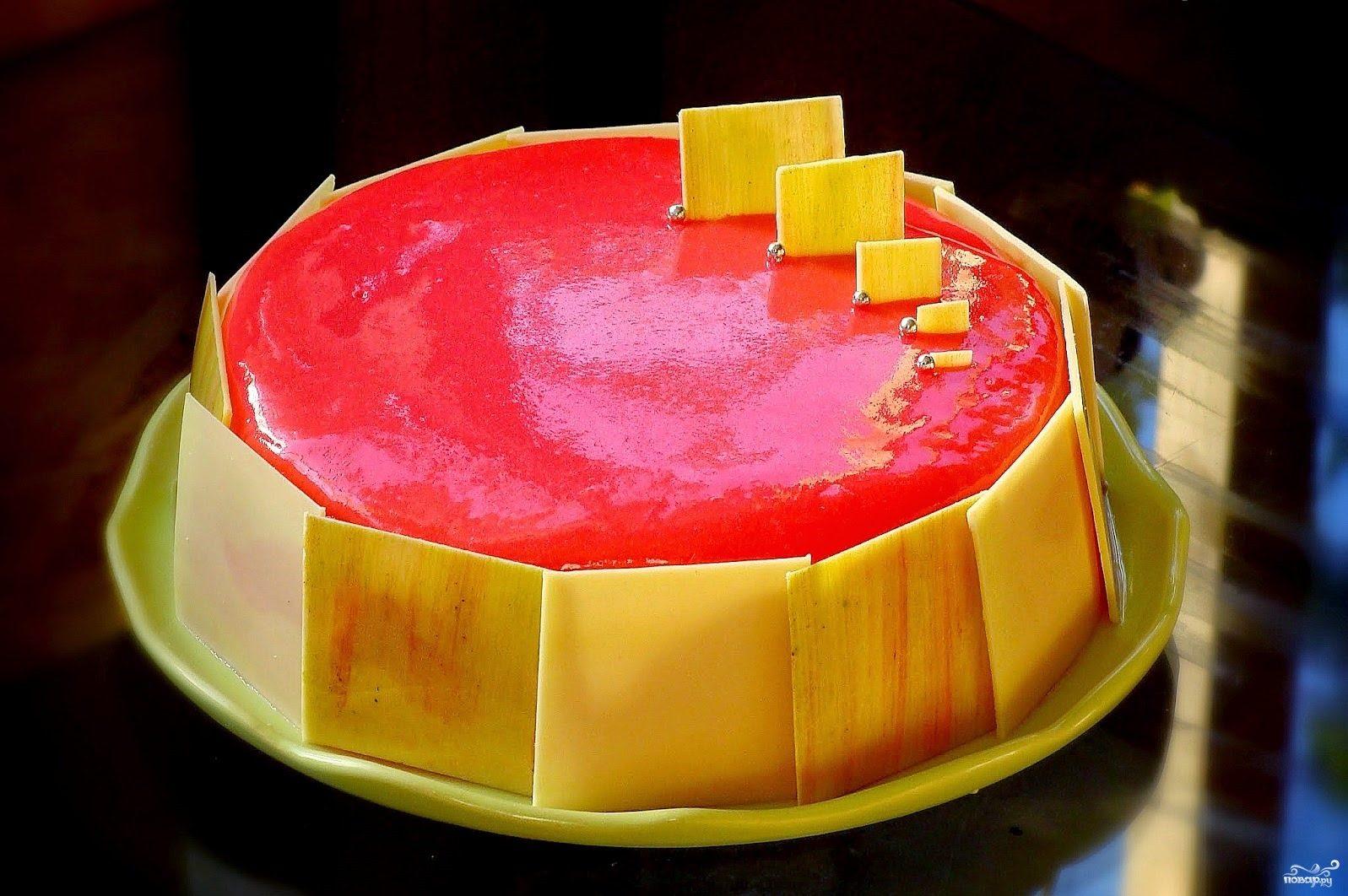 Глазурь для торта цветная рецепт