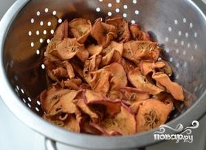 Рецепт Компот из сухих яблок