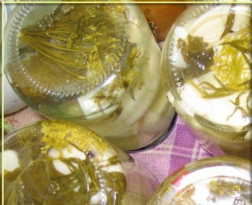 Патиссоны, консервированные на зиму - фото шаг 4