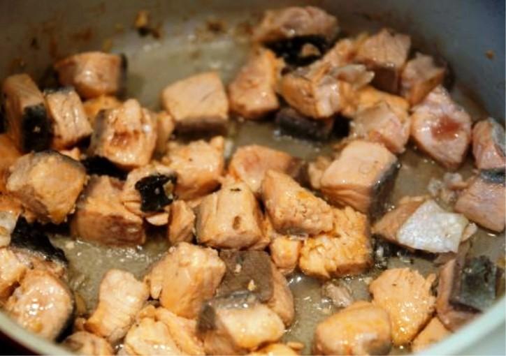 Рецепт Паста с семгой в сливочном соусе