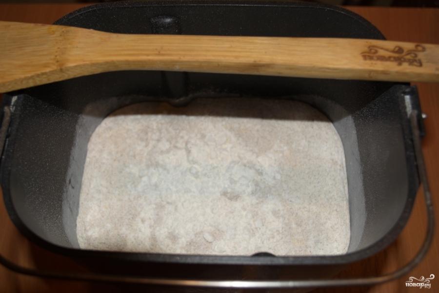 Рецепт Ржаные булочки с луком в хлебопечке