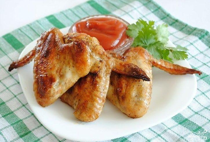 Рецепт Крылышки в остром соусе