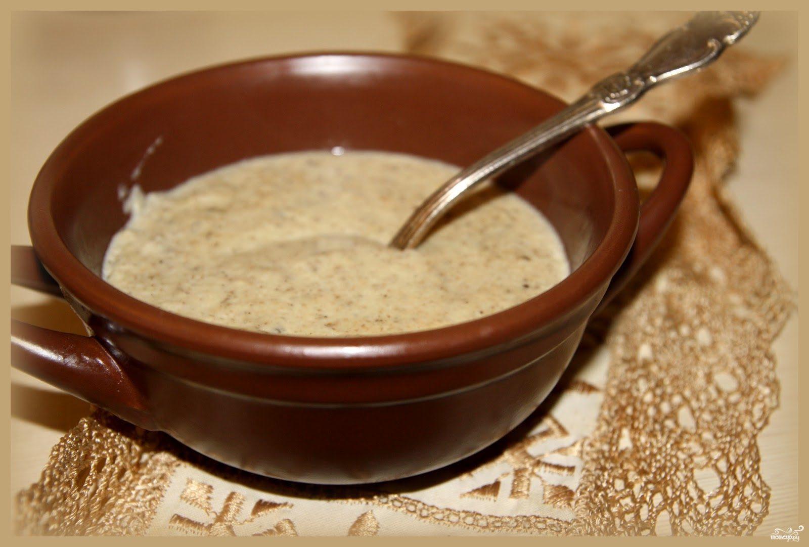 Рецепт Крем-суп из опят