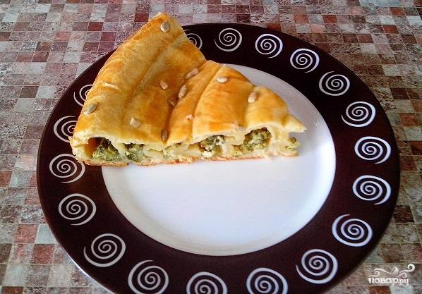 Пирог со шпинатом и сыром - фото шаг 9