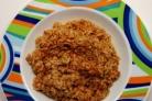 Рис с тушенкой в мультиварке