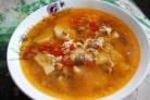 Суп с фаршем и яйцом
