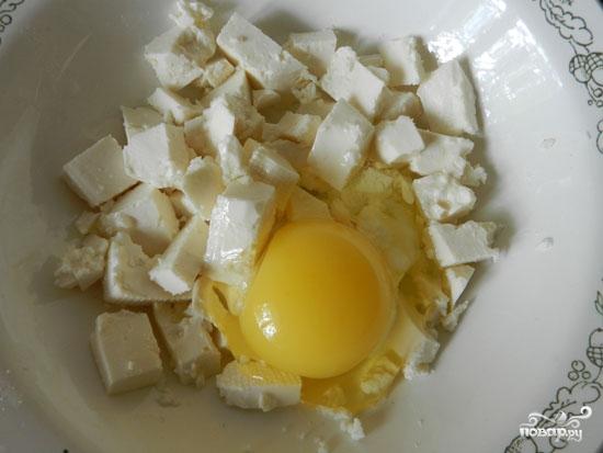 Картофель с брынзой - фото шаг 3