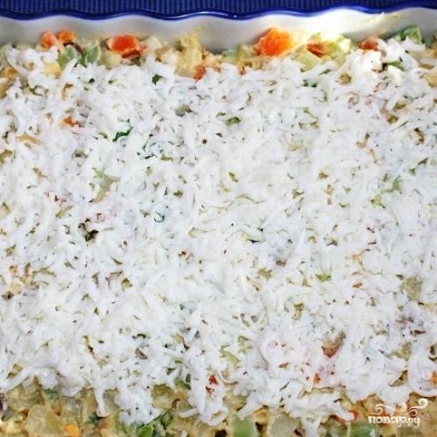 Сытный новогодний салат - фото шаг 26