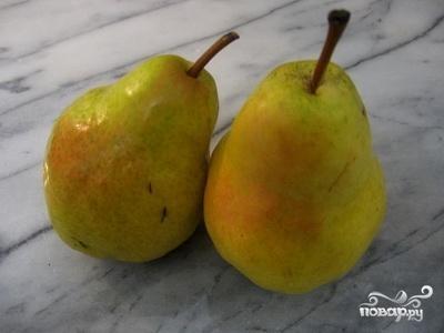 Рецепт Пюре из груши для грудничка