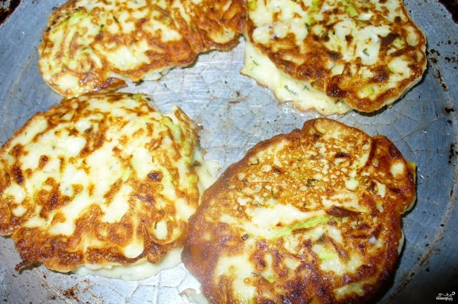 Оладьи из кабачков сладкие на кефире рецепт 64