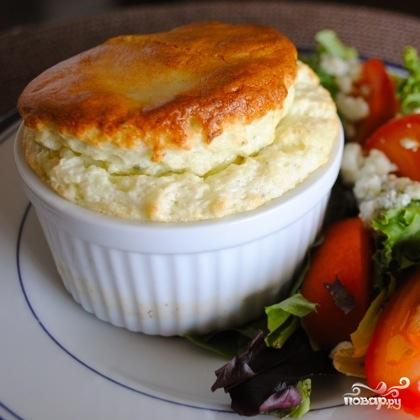 Суфле из голубого сыра - фото шаг 10