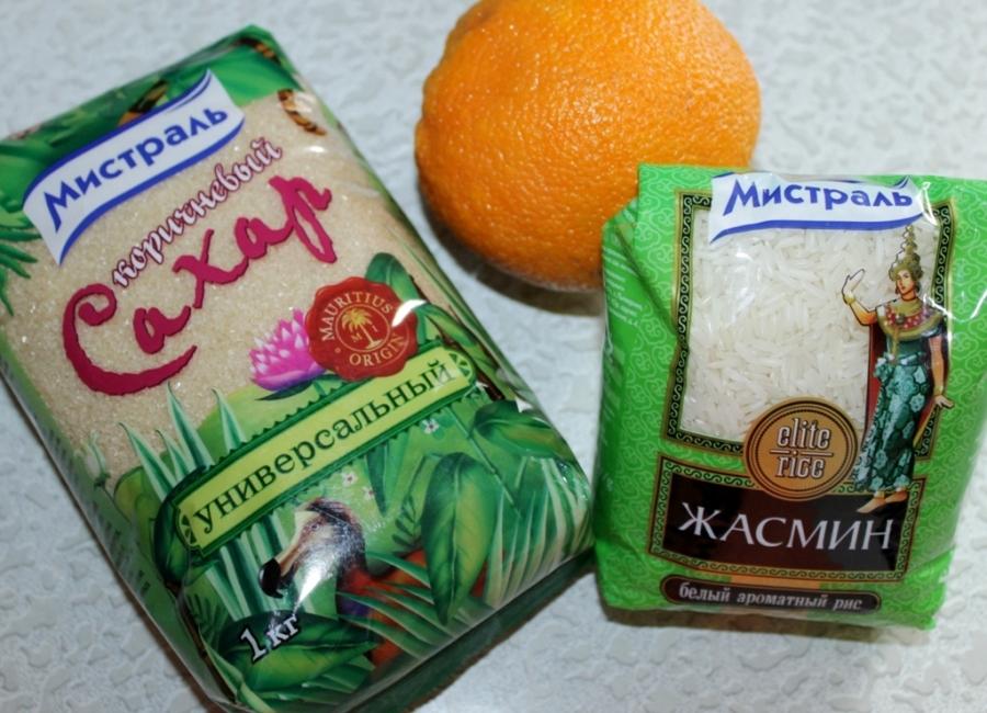 Рисово-апельсиновые конфетки  - фото шаг 1