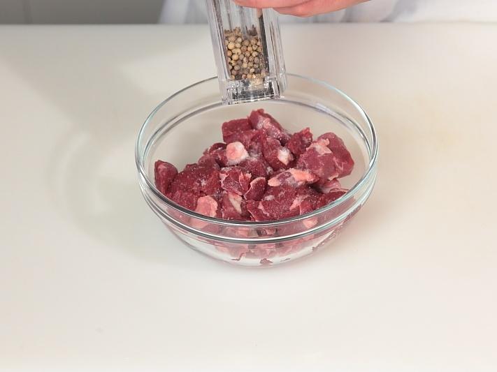 Рецепт Баранина в соевом соусе с помидорами