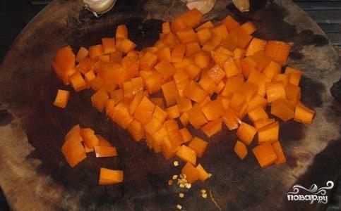 Тыквенный суп для похудения - фото шаг 1