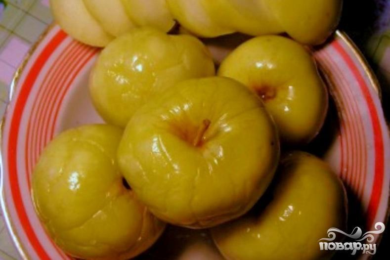 Рецепт Моченые яблоки