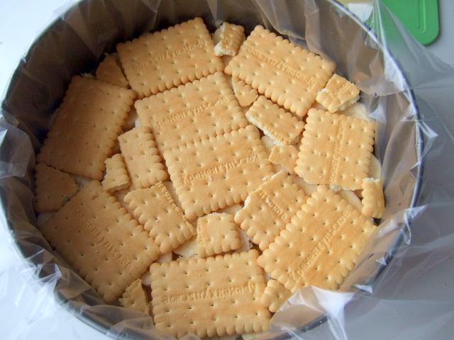 Торт из печенья и бананов пошаговый рецепт 75