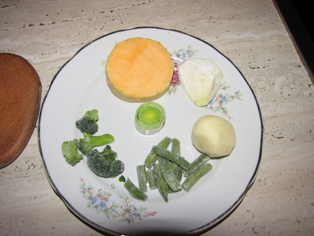Рецепт Овощное пюре для грудничка